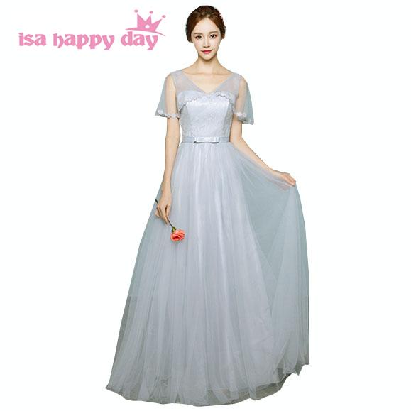 8db08c76d03 sweet 16 cute long gray girls tulle fitted homecoming dresses with cap  sleeves teen puffy dress party styles ball gowns H3741