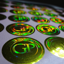 custom made self adhesive hologram sticker maker labels. Free design ! void if removed