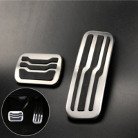 NO Drill Car Foot Gas Fuel Brake Pedal Pads Accessory For Ford Explorer 2011 2019 Accelerator Pedals Kit 2Pcs