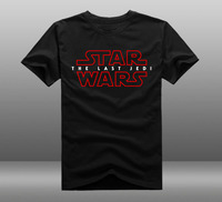 New Movie Star Wars 8 T Shirt Star Wars Episode VIII The Last Jedi Men T