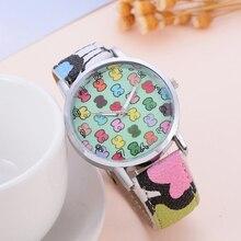 New Fashion Brand Watches Women Leather Quartz Wristwatch Cl