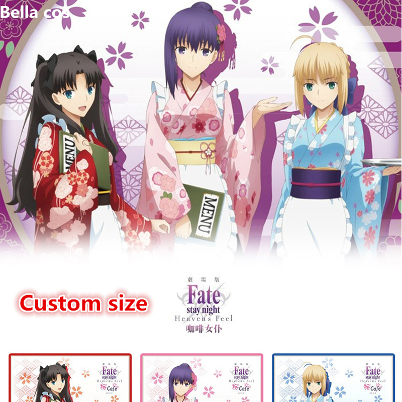 Fate Grand Order Saber Artoria Tohsaka Rin Matou Sakura Cosplay Costume Heavens Feel Cafe Apron Maid Dress Kimono Anime Clothes Game Costumes Aliexpress