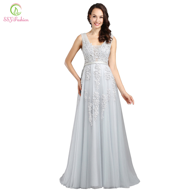 #Fashion Lace Long #Evening #Dress #Bride #Sexy #Sleeveless #Party #Dresses #grl #boygrl 1