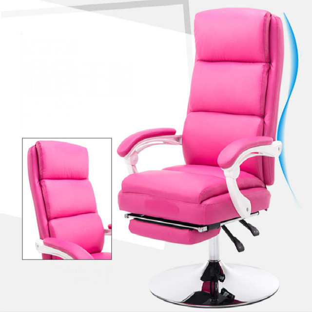 Alta qualidade macio e confortável deitado cadeira cochilo preguiçoso cadeira do computador cadeira de maquiagem experiência cadeira de multi-cor opcional