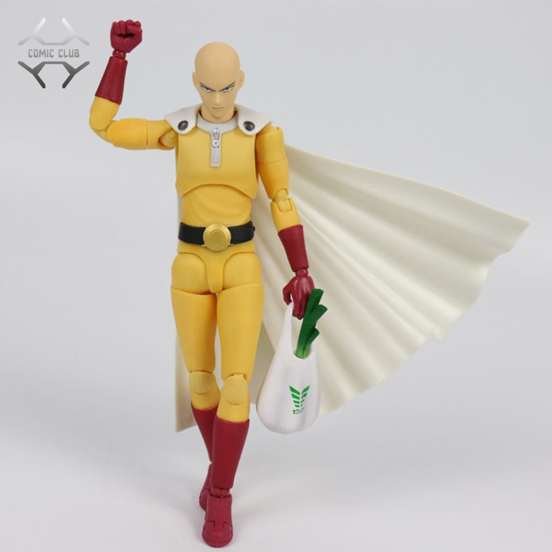 GREAT TOYS Dasin anime ONE PUNCH MAN Saitama Genos SHF action figure GT model