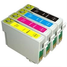 T0921 Картридж Для Epson Stylus T26 T27 TX117 TX119 TX106 TX109 CX4300 C91 Принтер T0921-T0924 Полный Чернил