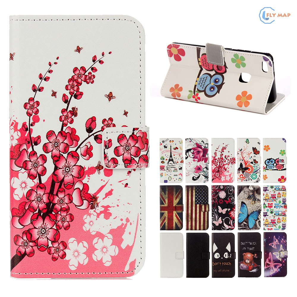 Flip Coque For Huawei P10 Lite Wallet Card Phone Leather Protector Case Cover For Huawei P 10 Lite WAS-LX1 WAS-TL10 Silicone Bag