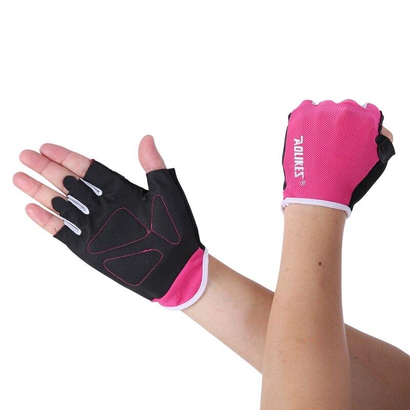 Женские/мужские перчатки для тренировок, тренажерного зала, бодибилдинга, спорта, фитнеса, перчатки для занятий тяжелой атлетикой, мужские перчатки для женщин S/M/L - Цвет: MR