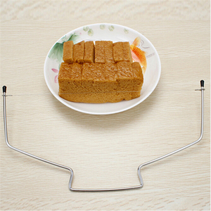 Image 3 - 10 Inch Cake Slicing Knife DIY Stainless Steel Double Line Adjustable Butter Butter Bread Cake Cutter Home Kitchen Baking Tools