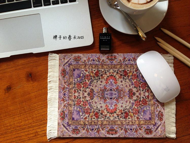 Hot Sale High Quality Fashion Chinese Gaming Mouse Pad Turkey Pattern Lace Carpet  Mouse Pad Rug Mouse Pad Creative Mouse Pad In Mouse Pads From Computer ...