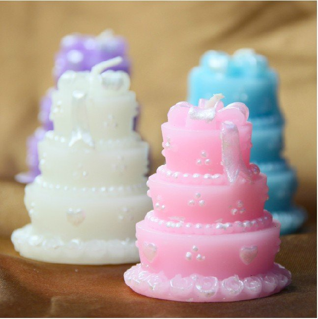 wedding cake candles favors wedding favors gifts wedding cake 22157