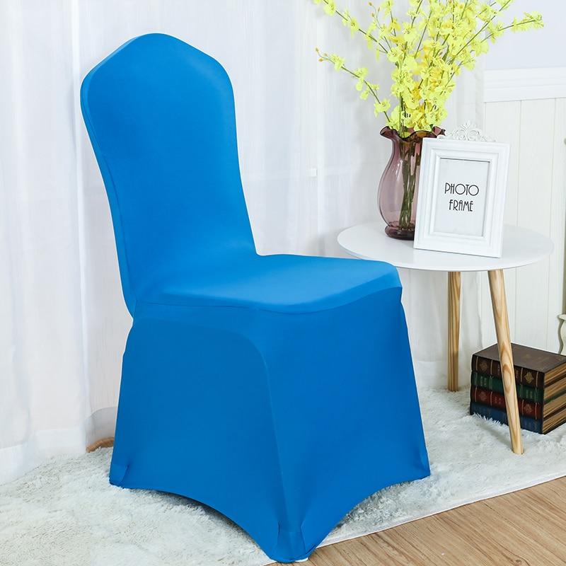 30 farver Spandex stolbetræk lycra dækning til stol spisestue - Hjem tekstil - Foto 4