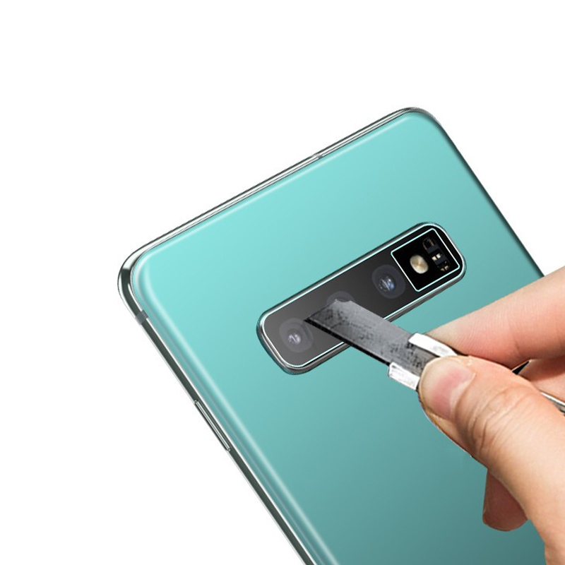 2.5D Anti-fingerprint HD Ultra-thin Camera Lens Protector Lens Cover For Samsung S10/S10 Plus/S10E Screen Protectors
