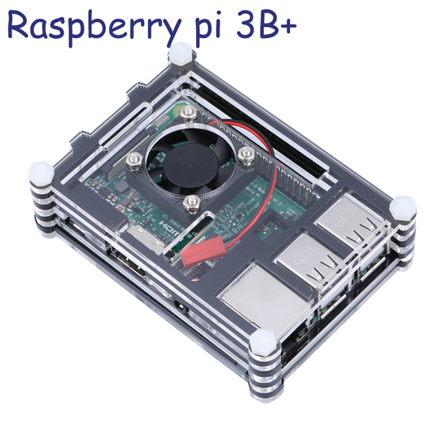 Raspberry Pi 3 Model B Case 9 Layers Acrylic Case For Rpi 3b With