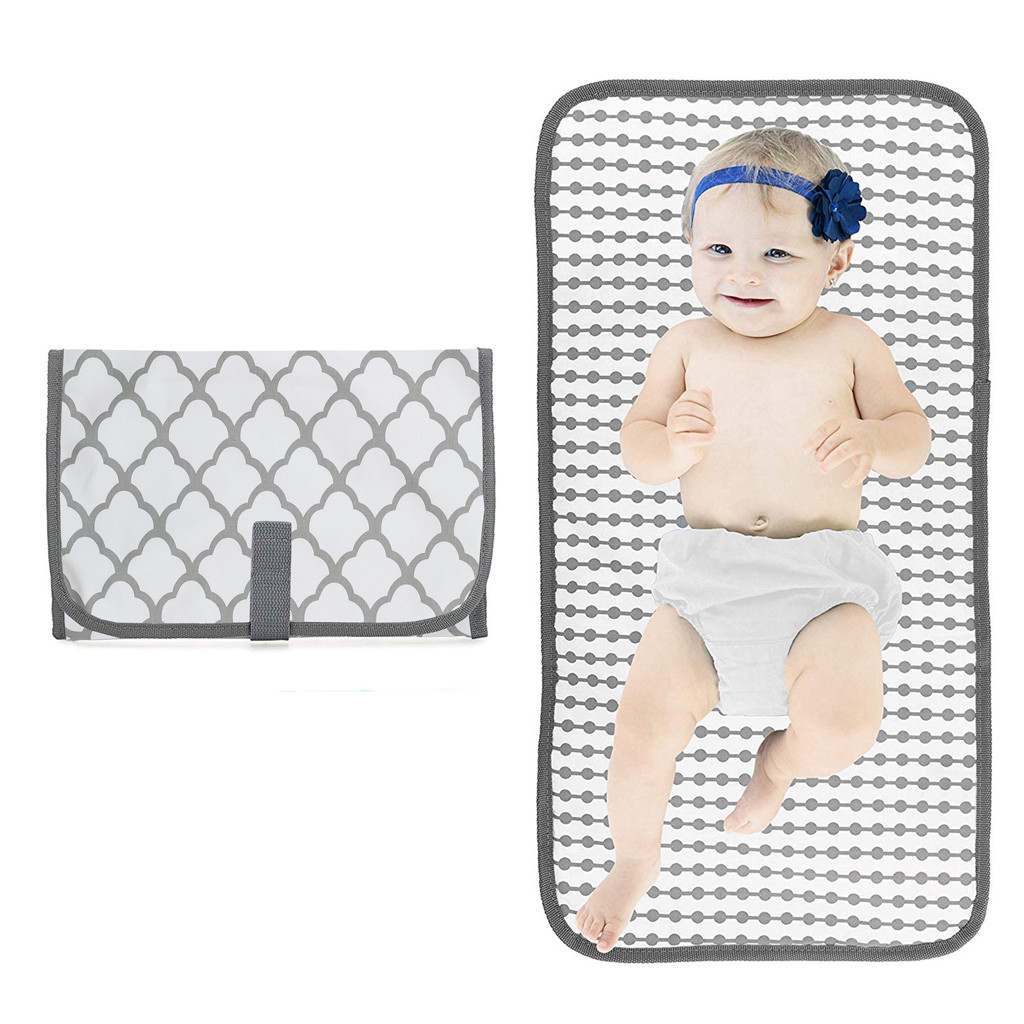 Portable Cotton Baby Diaper Changing Mat Foldable Waterproof Baby Care Front Soft Travel Nappy Change Floor Play Pad Baby Care