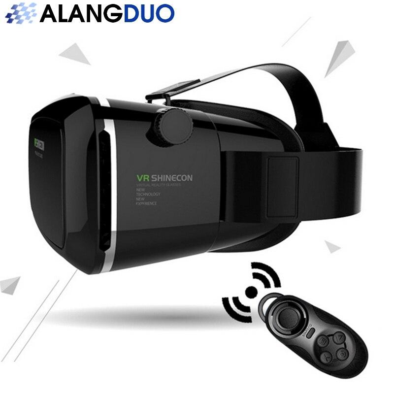 <font><b>New</b></font> <font><b>VR</b></font> <font><b>Shinecon</b></font> 2.0 <font><b>Virtual</b></font> <font><b>Reality</b></font> <font><b>Glasses</b></font> helmet <font><b>VR</b></font> Box 3.0 3D <font><b>Glasses</b></font> <font><b>Headset</b></font> Cardboard For 3.5-6.0 inch android apple phone