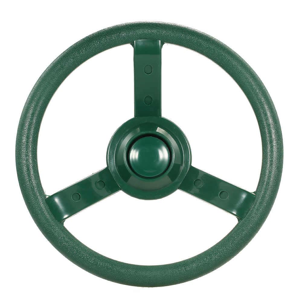 Пластик рулевое колесо качели Интимные аксессуары для дерева дворе игровой набор руль для девочек и мальчиков Дети Детский подарок Играть Игрушка