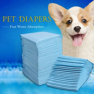 Image 5 - Multi size Pet Dog Diapers Super Absorbent Pet Dog Training Pee Pad Diaper Antibacterial Puppy Dog Nappy Pet Cleaning Supplies