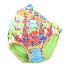 2b3ef828d8 Großhandel 10 teile/los Kinder jungen Dreieck Unterwäsche Höschen Milch  Seide Spiderman batman cartoon Unterhose 2-7years TP01