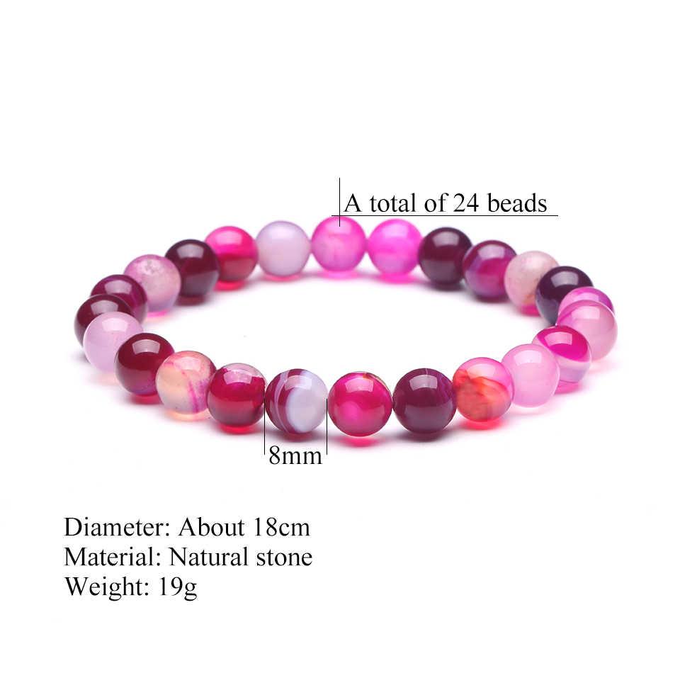 Очарование великолепный натуральный камень браслет из бусин для мужчин и женщин 2019 Модные мужские Ювелирные Браслеты Аксессуары