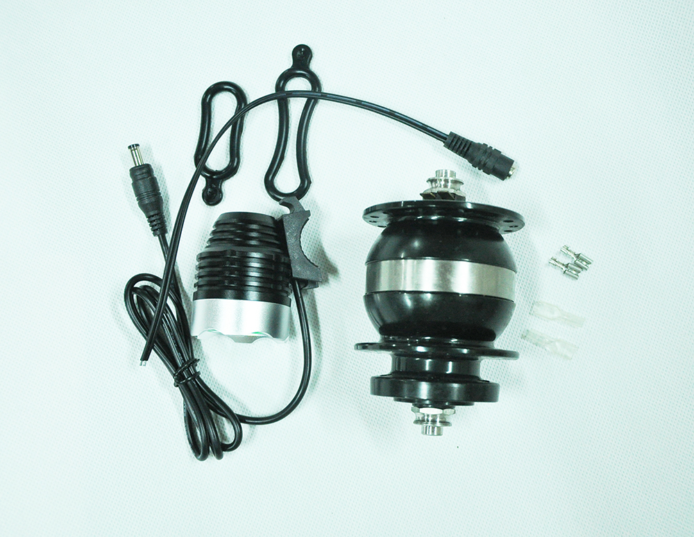 Yape cnc сплав дисковый тормоз 36 отверстия подшипники 100 мм генерация энергии динамо электрический велосипед концентратор