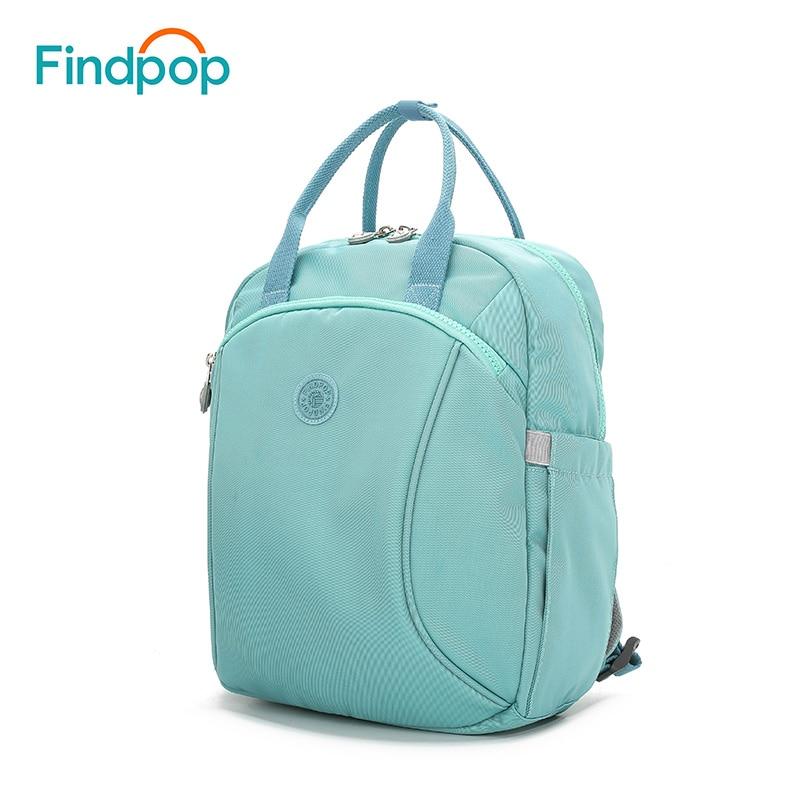 Findpop Brand Fashion Backpack Women 2018 New Canvas Multicational Backpack Mochila Waterproof Large Capacity Backpack Bags pabojoe men fashion casual backpack waterproof brand capacity blue zipper mochila solid pattern