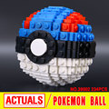 Lepin 39002 Nuevo 234 Unids Pokemen Serie bola Del Pikachu Establece Juguetes de Bloques de Construcción de Ladrillos de piezas Pequeñas