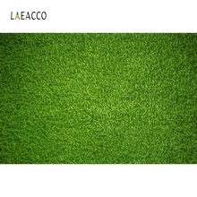 Laeacco Green Grass Screen Backdrops Solid Color Photography Backgrounds Baby Portrait Poster Photo Background Studio