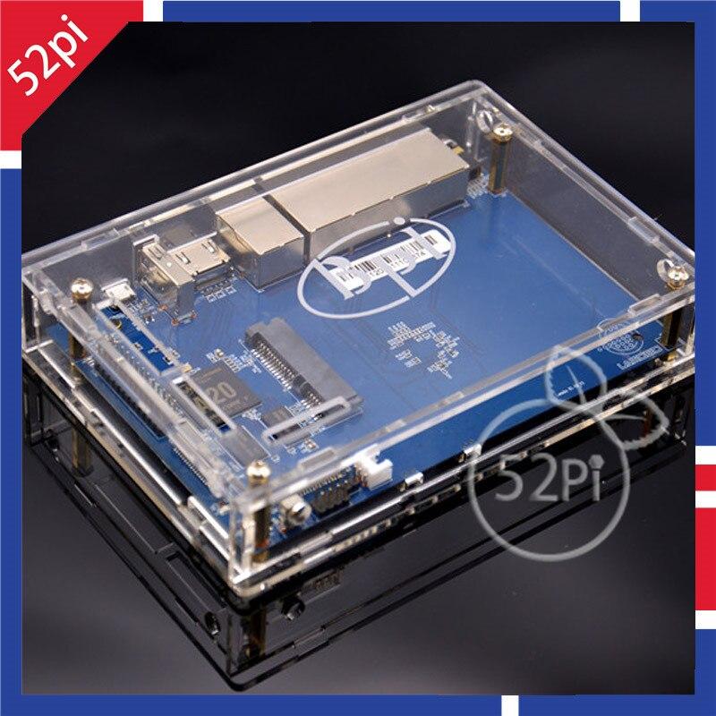 Espressive Copertura Della Cassa Acrilica Shell Box Box 100% Nuovo Di Zecca Per Banana Pi R1 Belle Arti