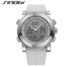 SINOBI Brand LED Digital Mens Military Watch Men Sports Watches 3ATM Swim Climbing Fashion Outdoor Casual