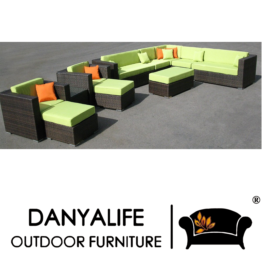 dysf db801 danyalife synthesis rattan all weather luxury garden furniture china