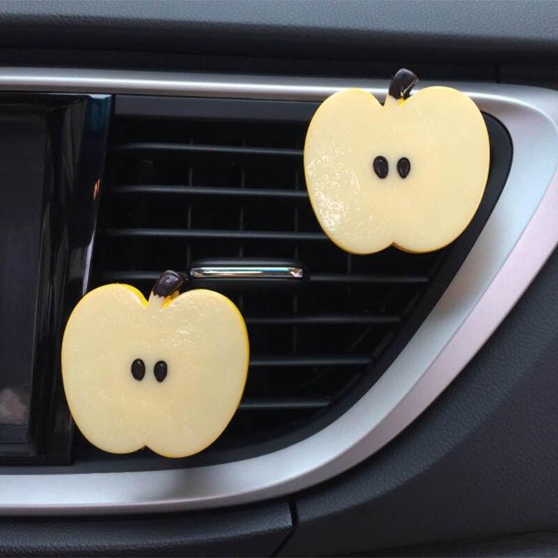 CJLWTTBOD Car Outlet Perfume Clip Apple Girl Car Air Freshener Indoor Zero Auto Accessories Decoration