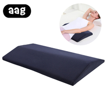 Pregnant woman sleeping pillow Memory foam lumbar for health pregnant waist memory pad bedding