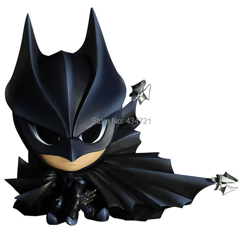 Hot DC Classic Super Hero Batman Q Version CPEYE Comics Variant Static Arts mini Eye Lights 6 Figure Toys neca dc comics batman arkham origins super hero 1 4 scale action figure