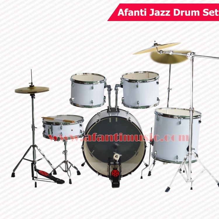 Jazz Cymbal Sets : 5 drums 3 crash cymbals lvory color afanti music jazz drum set drum kit ajds 422 in drum ~ Vivirlamusica.com Haus und Dekorationen