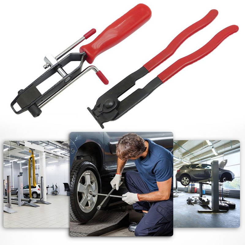 Clamp Pliers Joint Boot Clamp Plier Crimper Tool Set For Fuel Coolant Hose Pipe Banding Auto Repair Tools