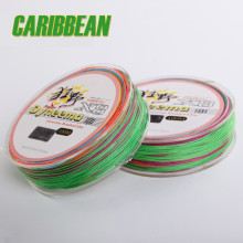 100m 8 strands Mulicolor PE braided fishing line lures Fishing Tackle multifilament braided fishing line 8 strands( 8 weaves )