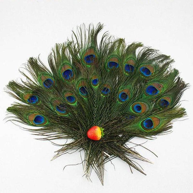 cm moda diy pluma unids hermoso azul ropa decoracin de plumas de