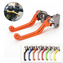 CNC Motocross Pit Bike Dirt Pivot Brake Clutch Lever For Honda XR 230 MOTARD 2005-2012