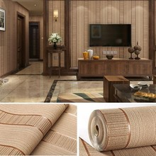 PAYSOTA High Quality Striped Wallpaper Deerskin Cashmere Modern Minimalist Bedroom Living Room Dining TV Background Wall P