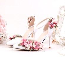 Hochzeit Kleid Perle Schuhe