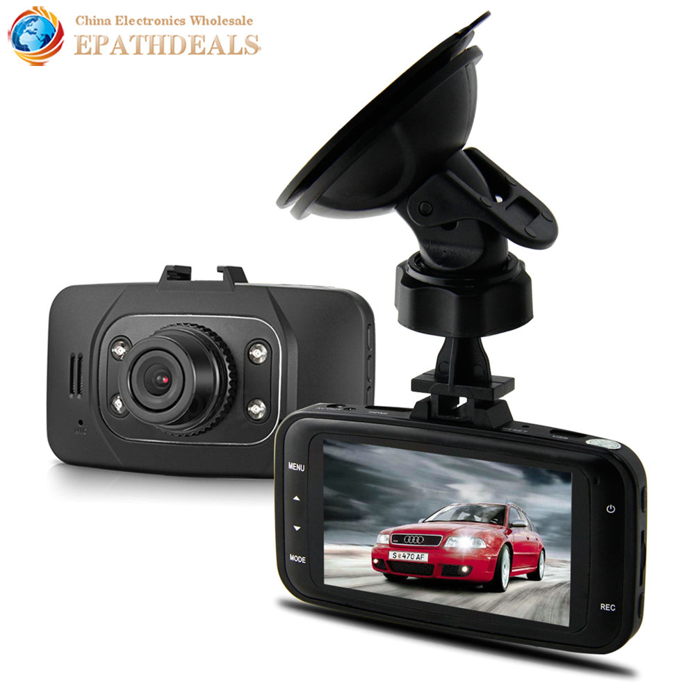 GS8000L 1080P Full HD 2.7 Inch LCD Car DVR Camera Video Recorder Novatek M-JPEG Wide Angle G-Sensor HDMI Digital Zoom Auto DVR