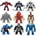 Marvel dc comics super heroes ironman building block hulkbuster veneno veneno de darkseid gorila grodd ladrillo decool com. withlego. juguetes