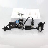 2PCS Light Source External Light Car Styling G5 LED H4 80W 8000LM 6000K 360 Degree COB