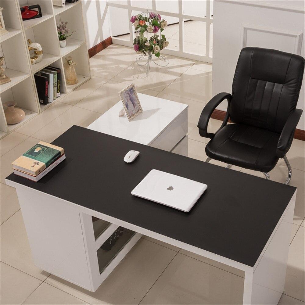 900*450mm bureau tapis de souris imperméable à l'eau ordinateur portable en cuir synthétique polyuréthane clavier tapis de souris bureau maison grande taille Table Pad pour Macbook ASUS Dell - 4