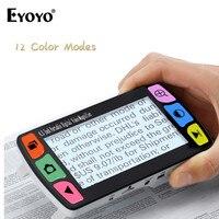 Eyoyo FD43 Video Magnifier Portable 6x 16x 4.3 Color Display Reading Digital Magnifier loupe bijoutier