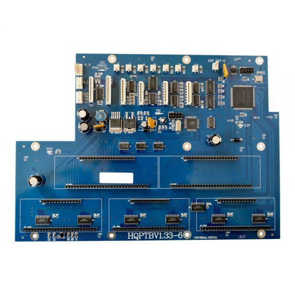 Infiniti / Challenger FY-3206G / FY-3206H 6head 35PL Printhead Board new original ecma e21315ss 220v 1 5kw 7 16nm 2000rpm 130mm ac servo motor with oil seal brake