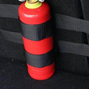 Image 3 - Zlord רכב פנים 4 יח\סט רכב trunk אש לכיבוי מחזיק ניילון בר רצועת בטיחות הגנת ערכת עבור C HR 2016 2017 2018