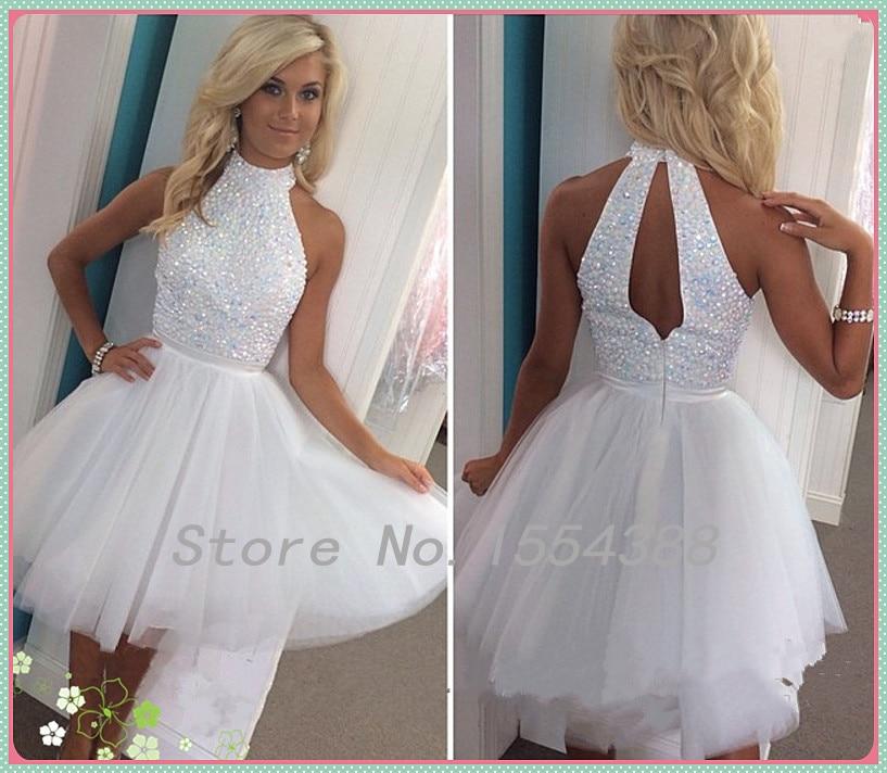 High Quality White Dresses Graduation-Buy Cheap White Dresses ...