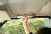 3pcs Aluminum Alloy Car Roof Grab Handle Trim For LADA NIVA Auto Accessories